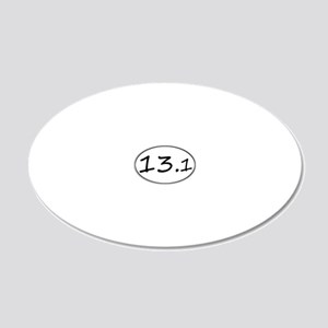 131temp 20x12 Oval Wall Decal