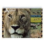African Wildlife 2014 Wall Calendar