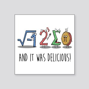 I 8 Sum Pi Math Teacher Pun Gift Sticker