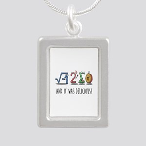 I 8 Sum Pi Math Teacher Pun Gift Necklaces