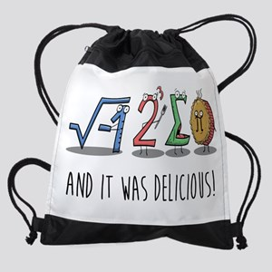 I 8 Sum Pi Math Teacher Pun Gift Drawstring Bag