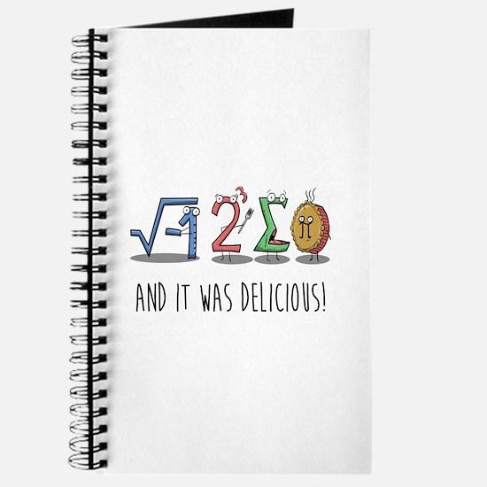 I 8 Sum Pi Math Teacher Pun Gift Journal