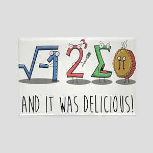 I 8 Sum Pi Math Teacher Pun Gift Magnets