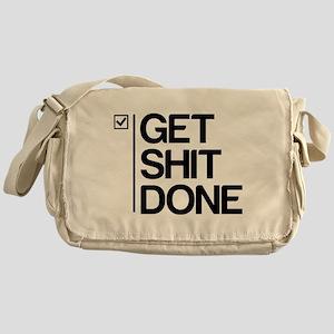 Get Shit Done Messenger Bag