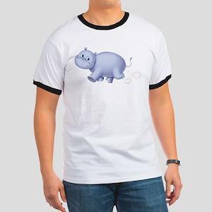 Indigo Hippo Ringer T