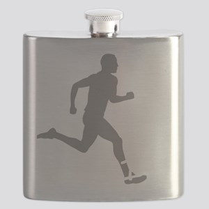 131runner10inBLK Flask
