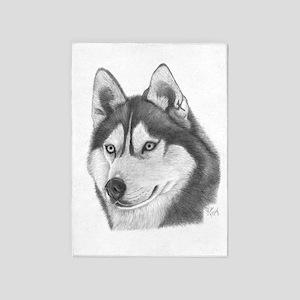 Husky 5'x7'Area Rug
