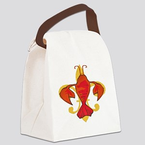 Fleurdecraw6atr Canvas Lunch Bag