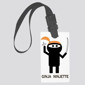 ginja ninjette Large Luggage Tag