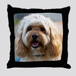 DeeJay lt Squ Throw Pillow
