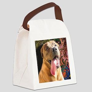 Aiden-TriPodDogDesign Canvas Lunch Bag