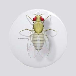 Drosophila Ornament (Round)