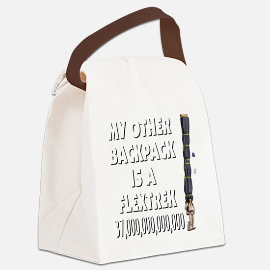 my-other_backpack Canvas Lunch Bag