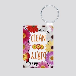 Spring Aluminum Photo Keychain