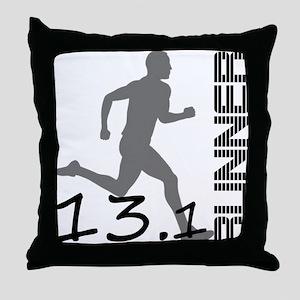 131runner10in Throw Pillow
