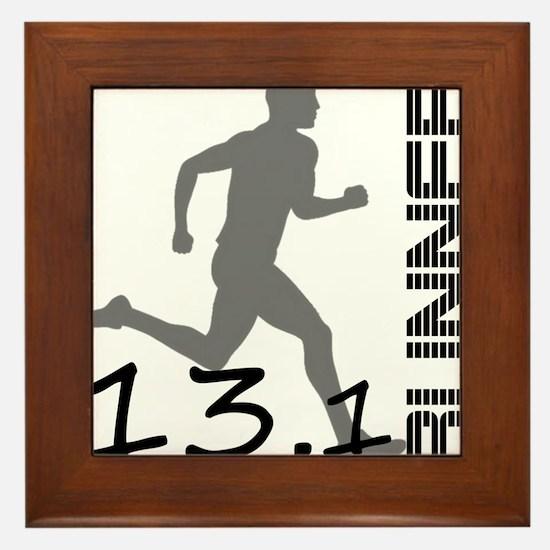 131runner10in Framed Tile