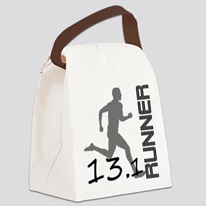 131runner10in Canvas Lunch Bag