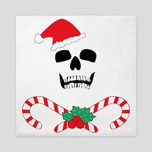 skullchristmas Queen Duvet