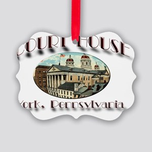 yorkcourt Picture Ornament