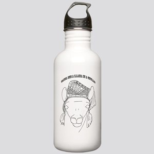 llama2 Stainless Water Bottle 1.0L