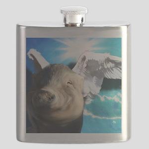 Angel_Pig-TriPodDogDesign Flask