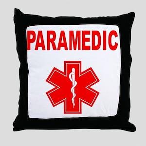 Paramedic Throw Pillow
