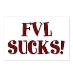 FVL Sucks! Postcards (Package of 8)
