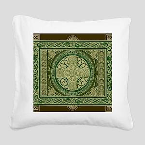 Celtic Blanket Square Canvas Pillow