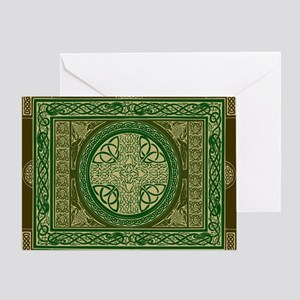 Celtic Blanket Greeting Card