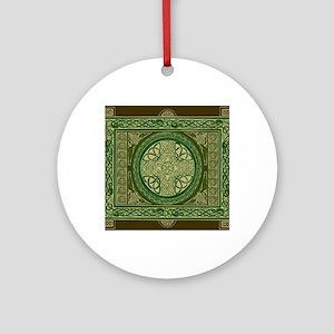 Celtic Blanket Round Ornament