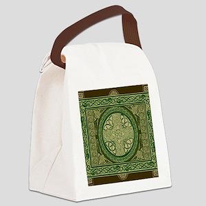 Celtic Blanket Canvas Lunch Bag