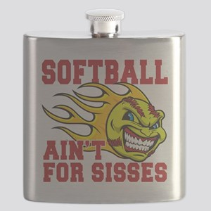 softball sisses(blk) Flask
