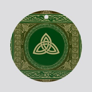 Celtic Blanket Round Ornament