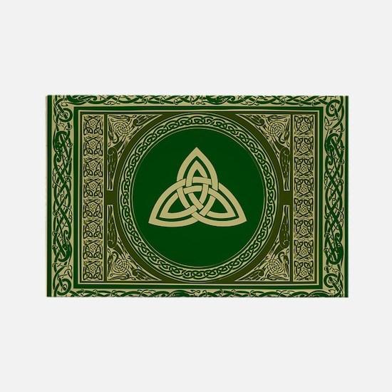 Celtic Blanket Rectangle Magnet