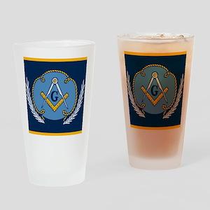 Masonic Blanket Drinking Glass