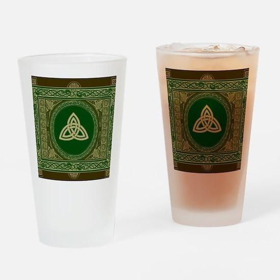 Celtic Blanket Drinking Glass