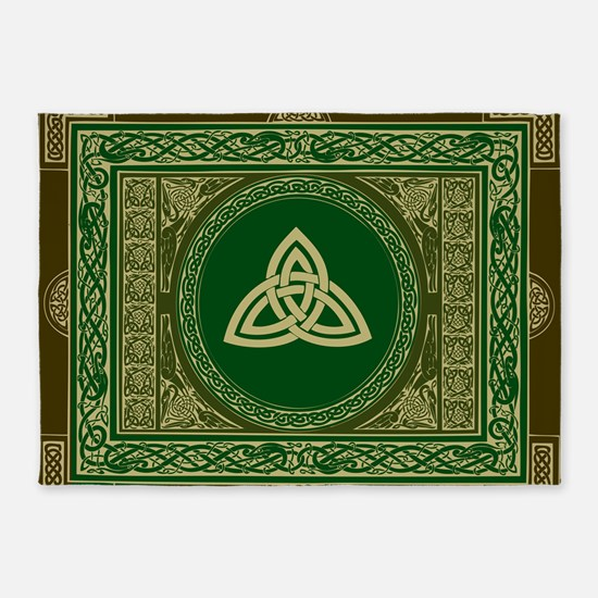 Celtic Blanket 5 X7 Area Rug