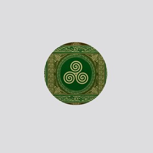 Celtic Blanket Mini Button