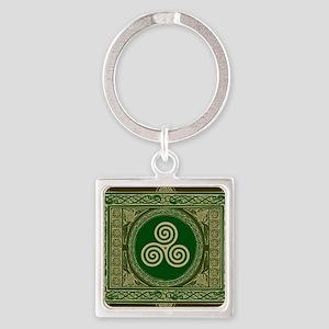 Celtic Blanket Square Keychain