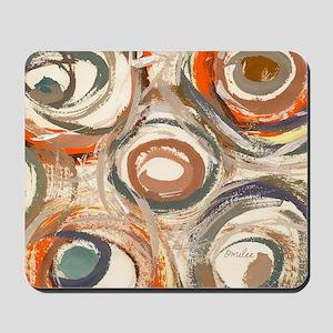 circles pillow Mousepad