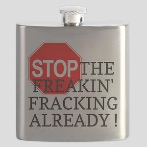 Stop the freakin fracking already Flask