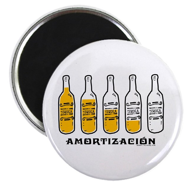 tequila amortizaci n magnet by themonkeyscribe. Black Bedroom Furniture Sets. Home Design Ideas