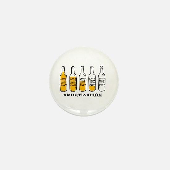 Tequila Amortización - Mini Button