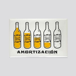Tequila Amortización - Rectangle Magnet