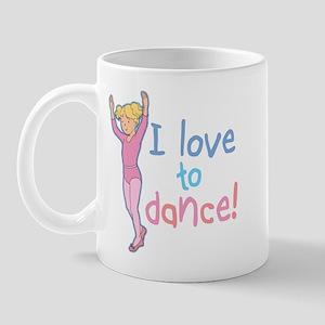 Love Dance Ballet Girl 4 Mug