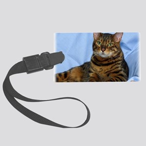 Bengal Cat 9W052D-018 Large Luggage Tag