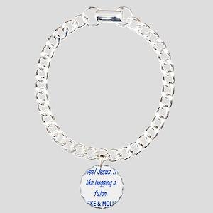 hugafuton Charm Bracelet, One Charm