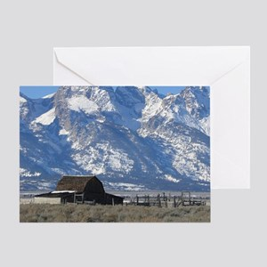 Copy of Tetons 021a Greeting Card