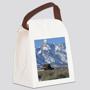 Copy of Tetons 021a Canvas Lunch Bag