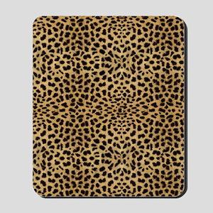 blanketleopardprint Mousepad